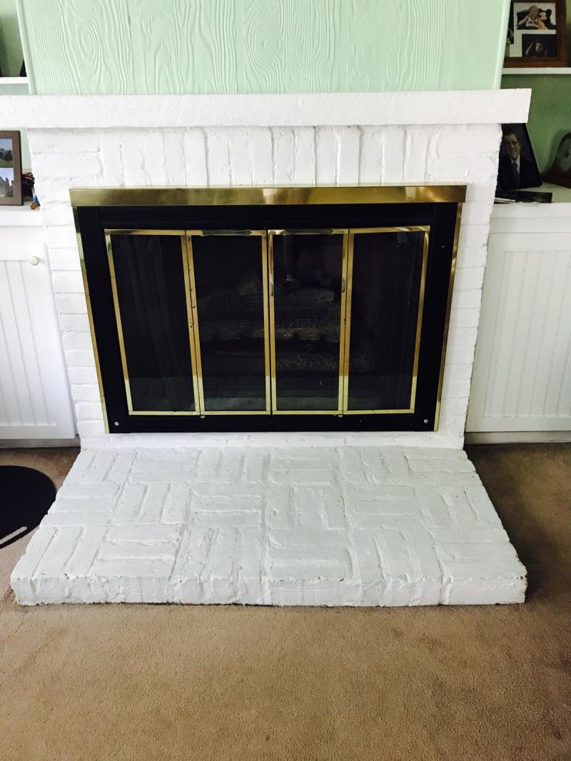 Fireplace Renovation Before